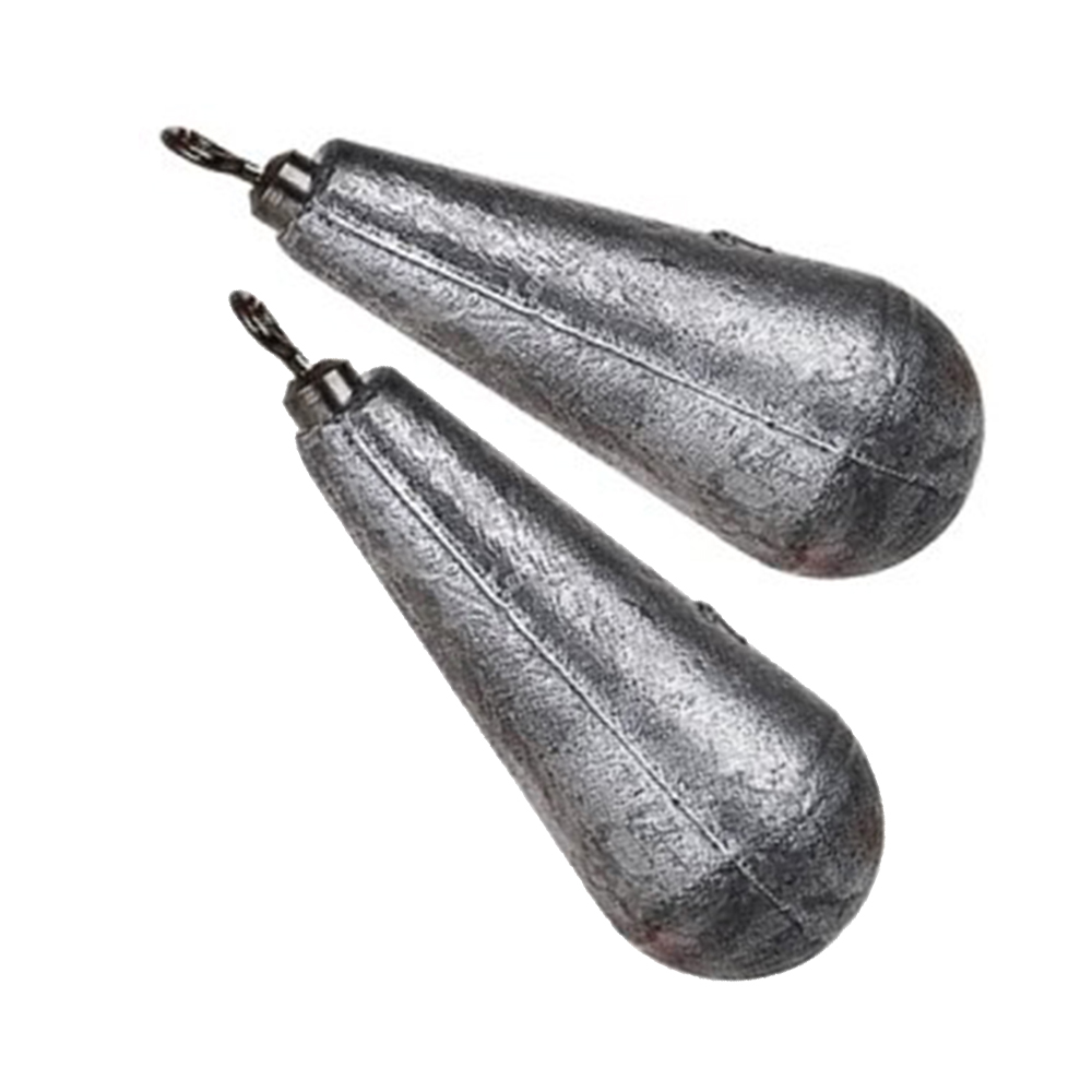 Pear Lead Swivel Weight 168g (2 Pack)