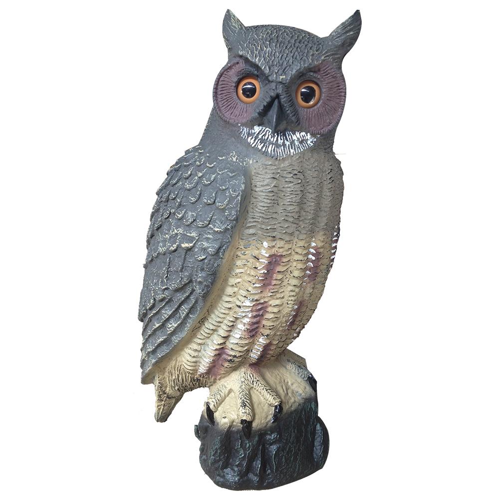 """Great Horned Owl Seagull Scarer 18"""""""