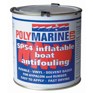 Inflatable Boat Antifouling - Hypalon Grey 1Ltr