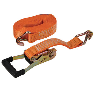 "Trailer Strap 50mm x 8m (5000kg) with ""J""-Hooks"