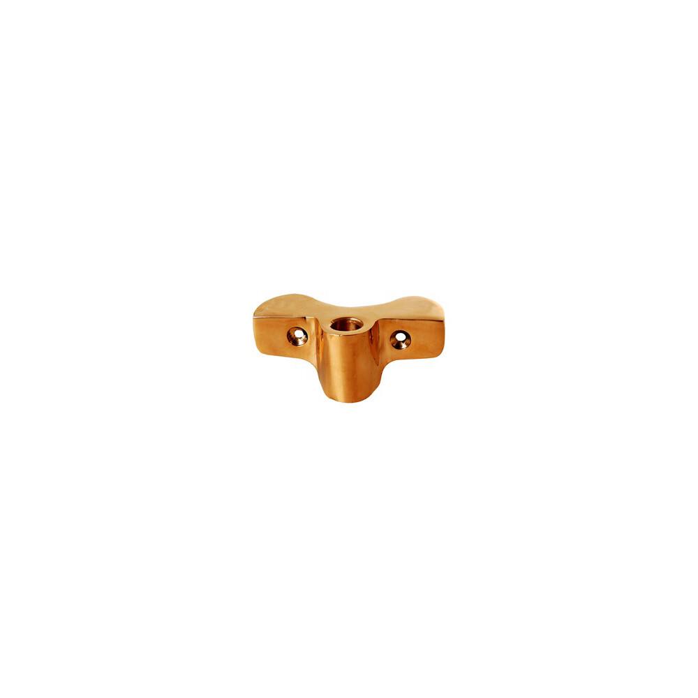 Side Mount Rowlock Socket - Bronze