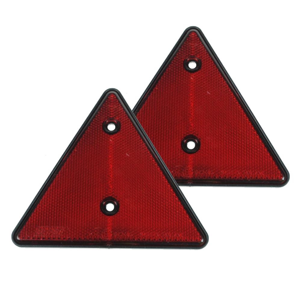 Reflective Trailer Triangle (Pair)