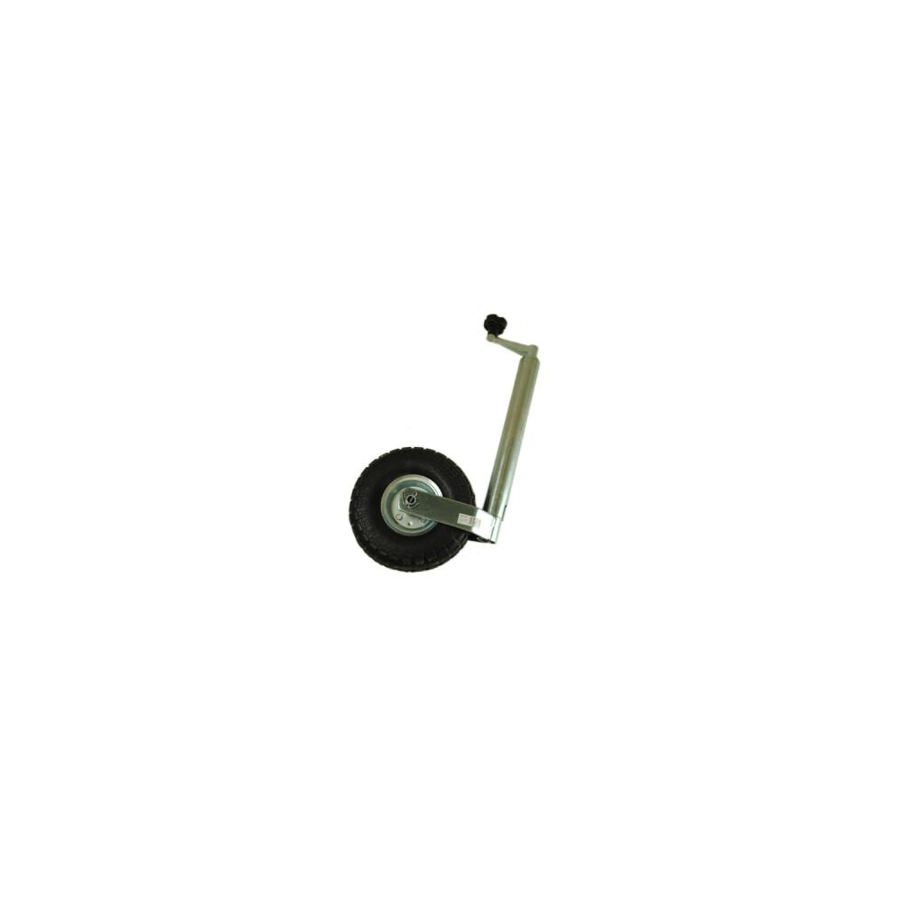 Jockey Wheel - 48mm Pneumatic Tyre