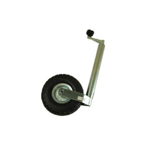 Jockey Wheel - 48mm Pneumatic Tyre