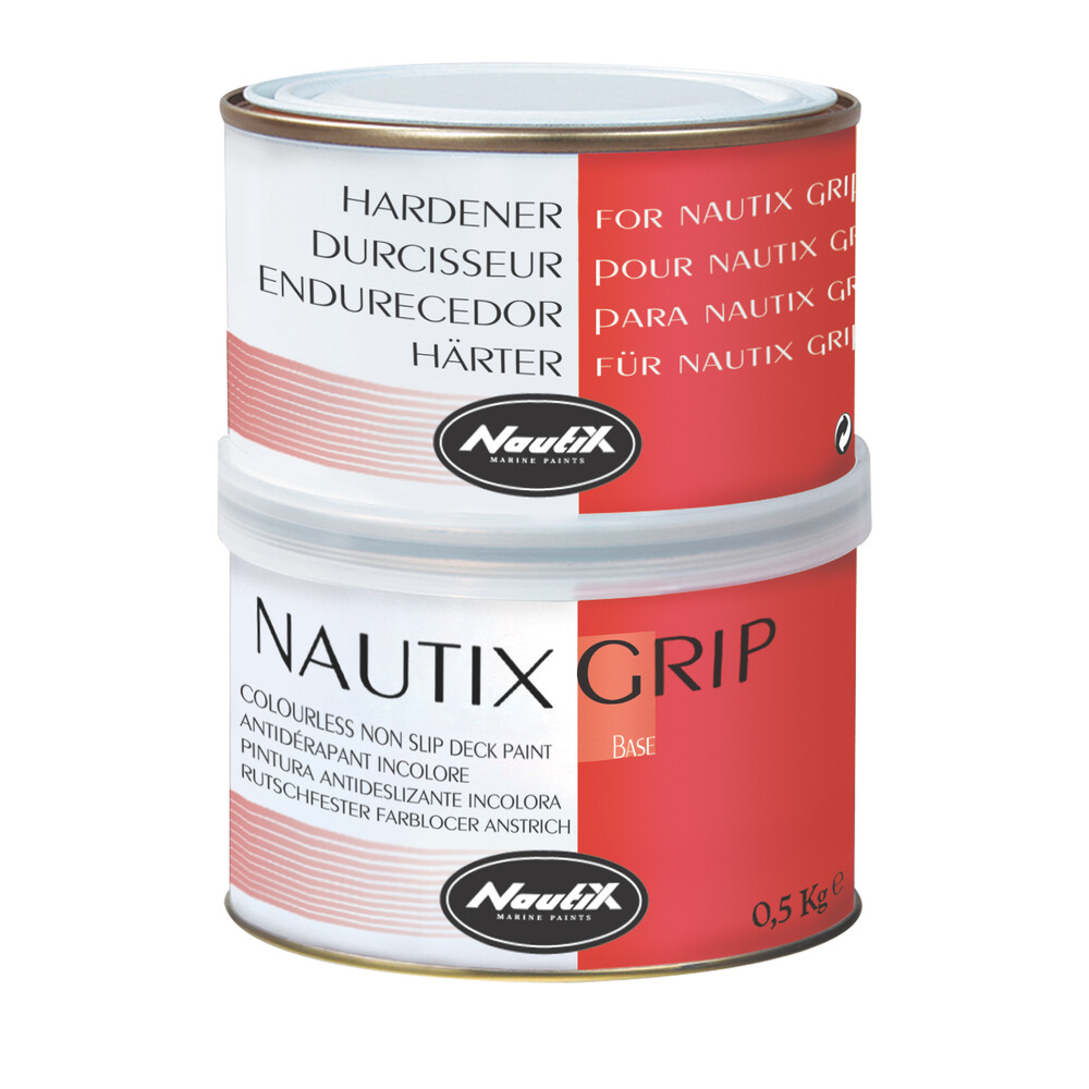 Grip 2-Pack Clear Non Slip Deck Paint 0.5kg