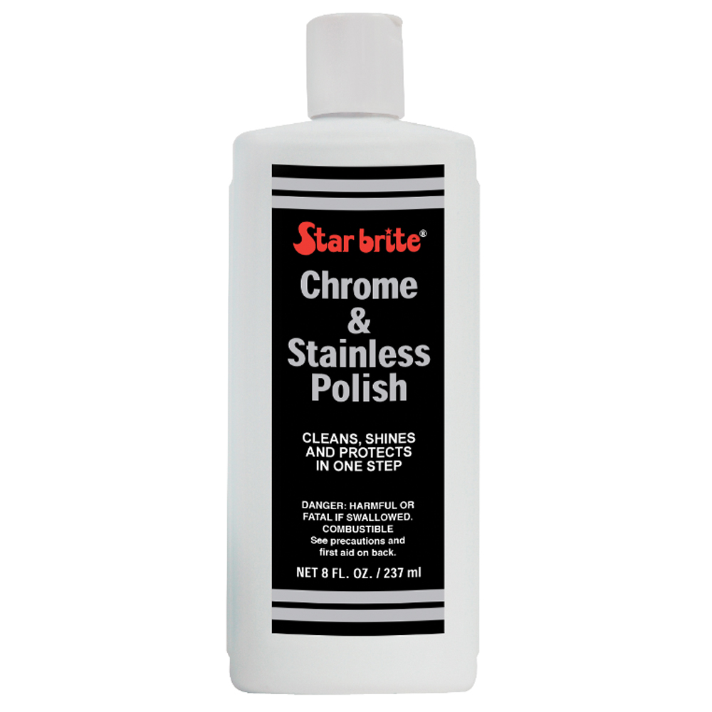 Chrome & Stainless Polish 250ml