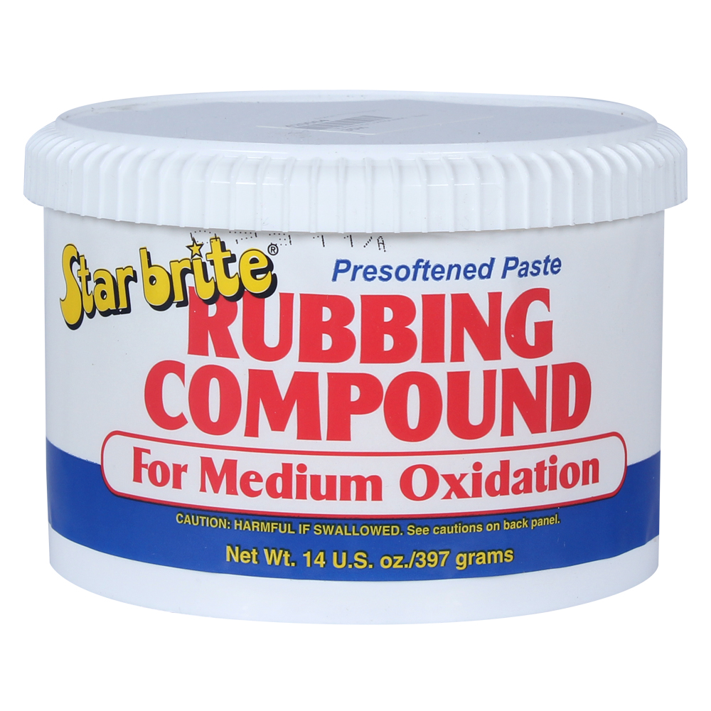Rubbing Compound Paste Medium 397g Can