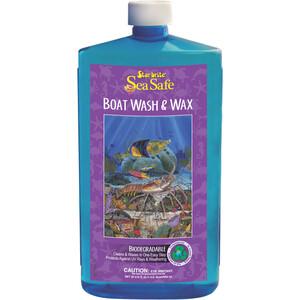 Sea Safe Wash & Wax 1Ltr