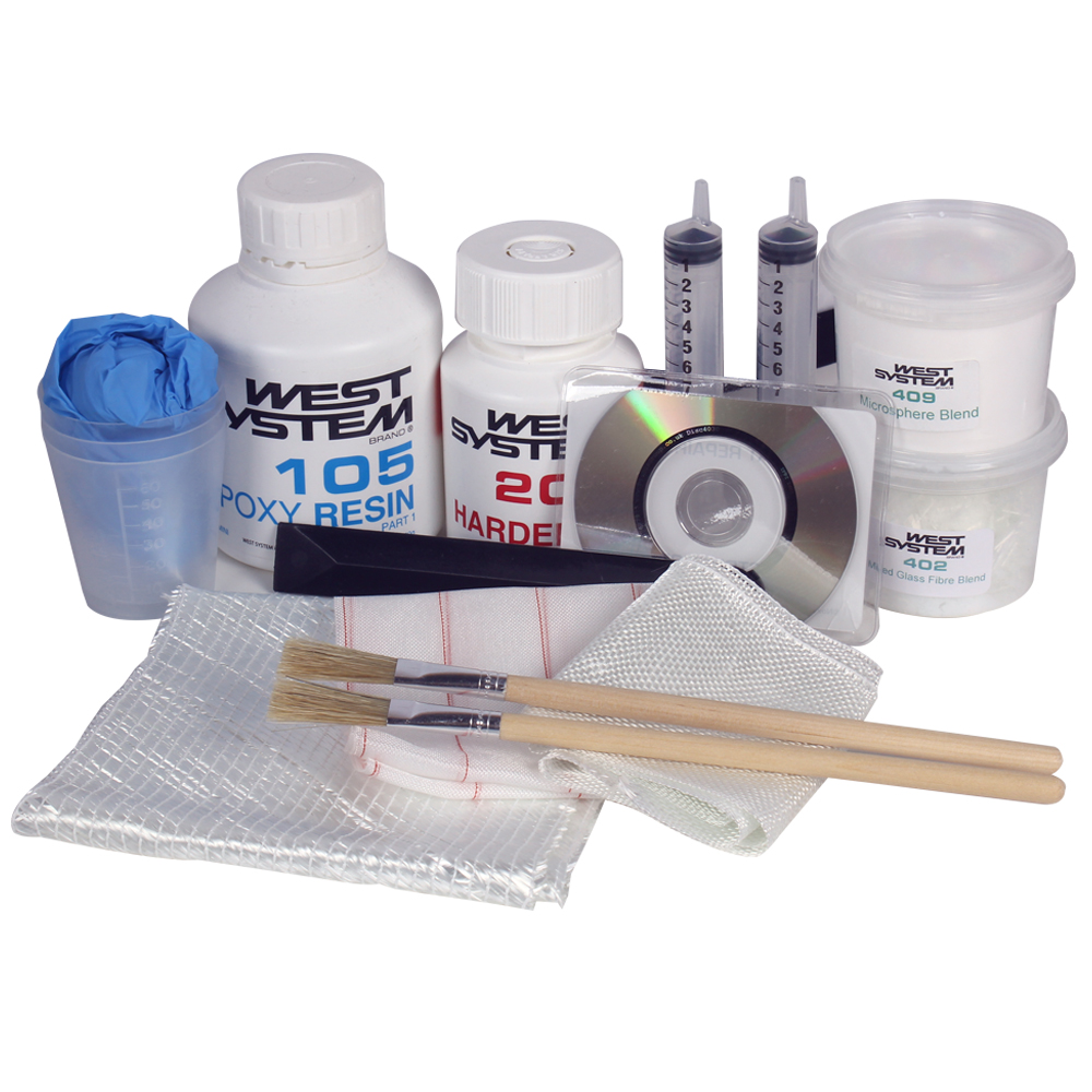 West Glass Fibre Repair Kit Pack