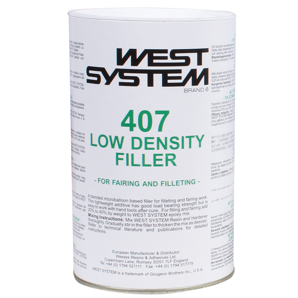 West 407 Low Density Filler 150g