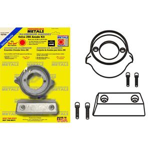 Engine Anode Kit w/Indicator Aluminium - Volvo 290