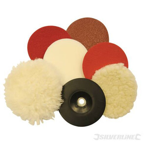 Sanding & Polishing Kit - 180mm