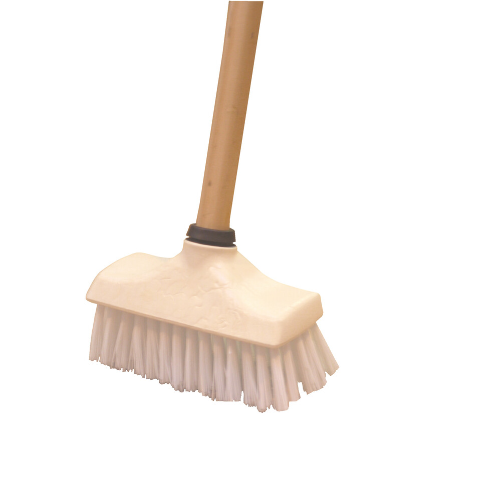 Victory Deck Scrubber with Wooden Handle