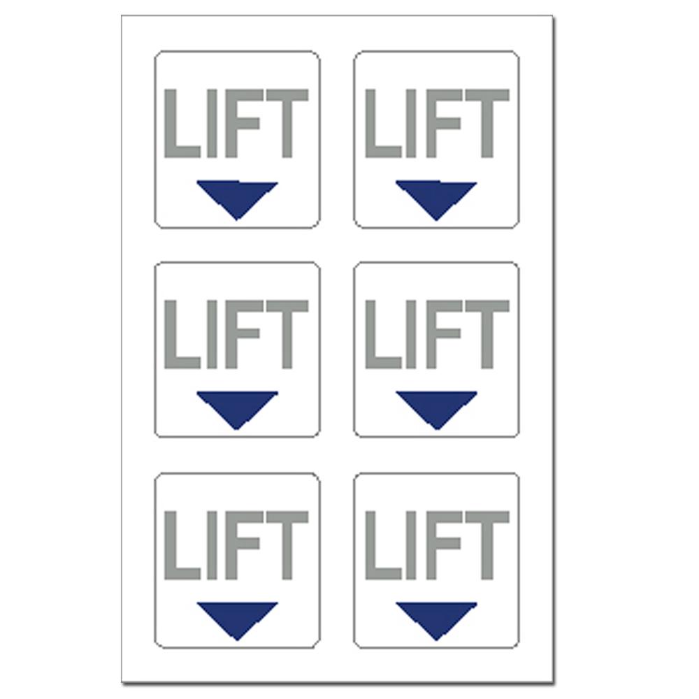 """Lift"" Stickers"