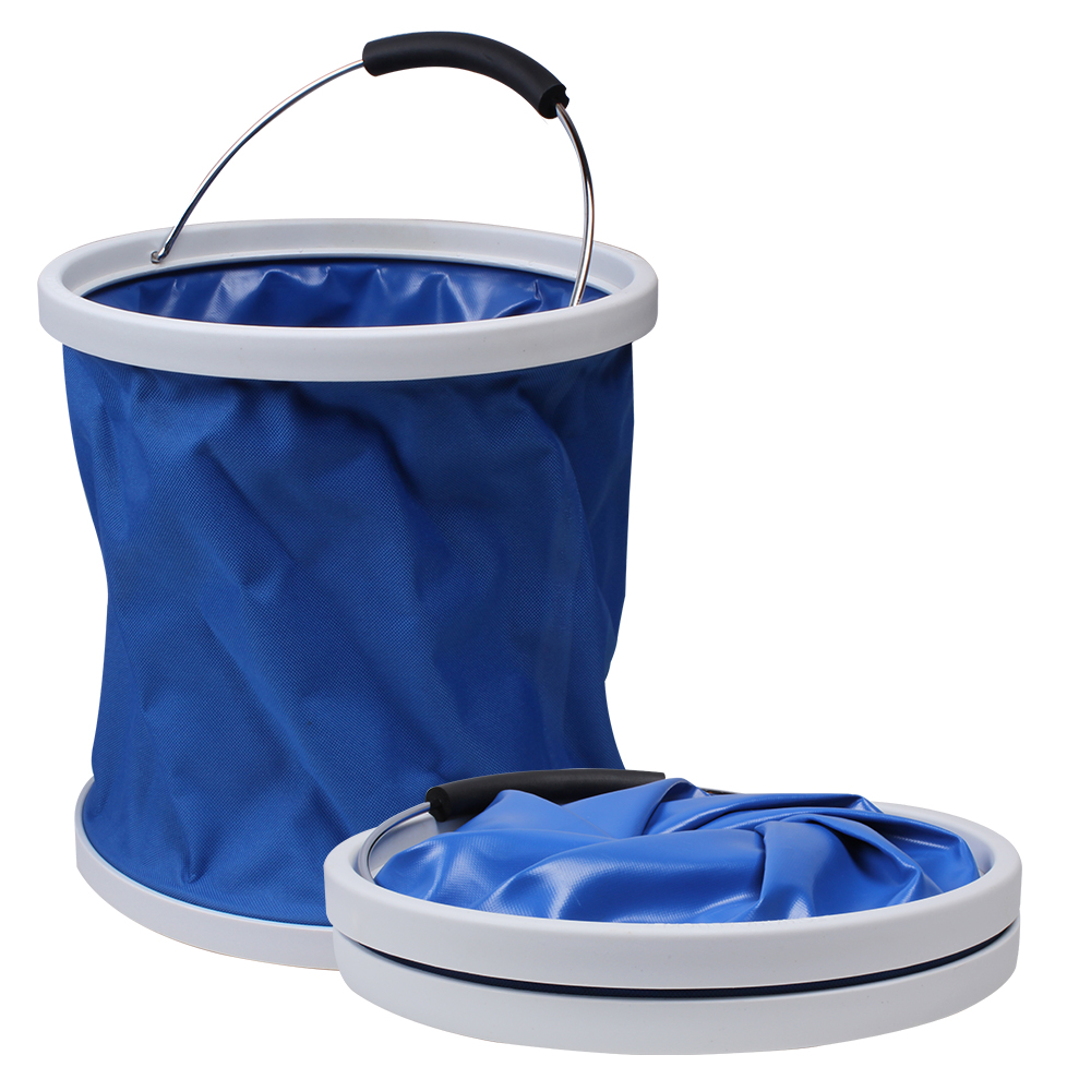 Stowaway Folding Bucket Blue