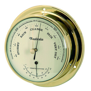 Thames 11cm Brass Barometer