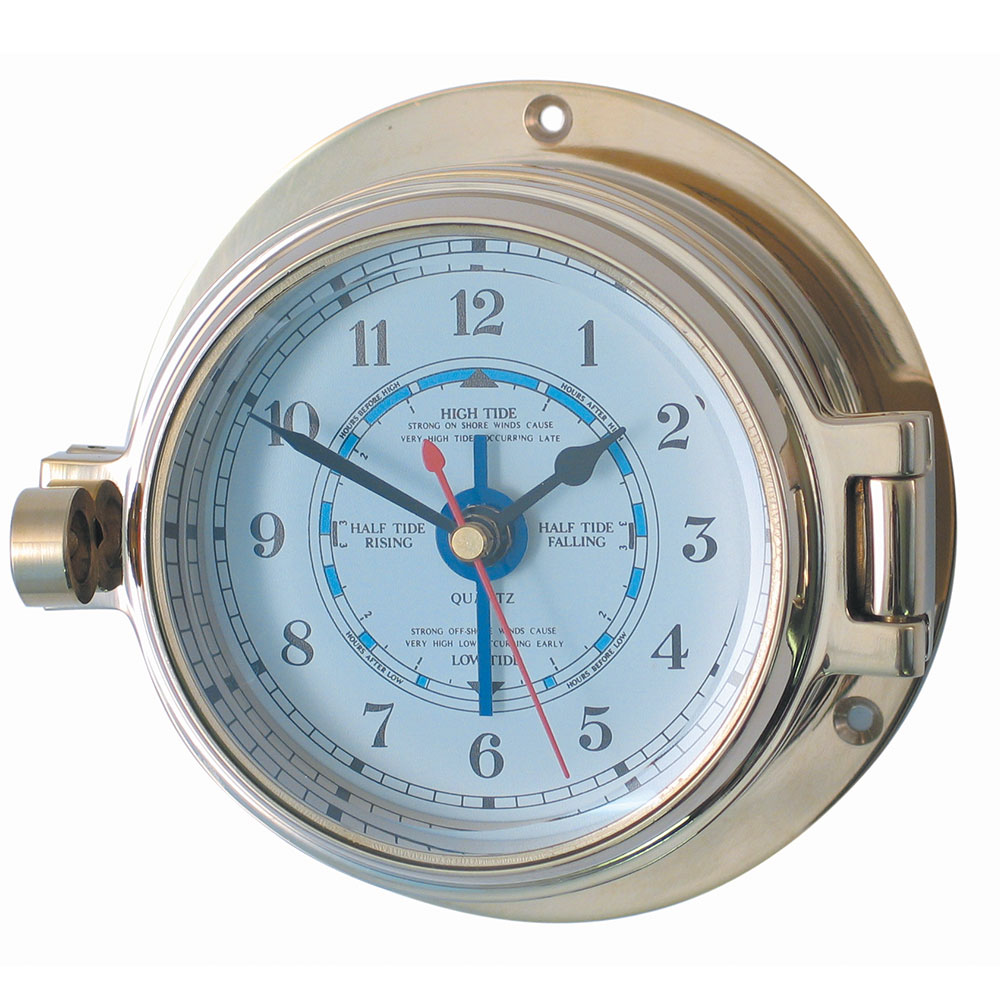 "3"" Brass Channel Tide Clock"