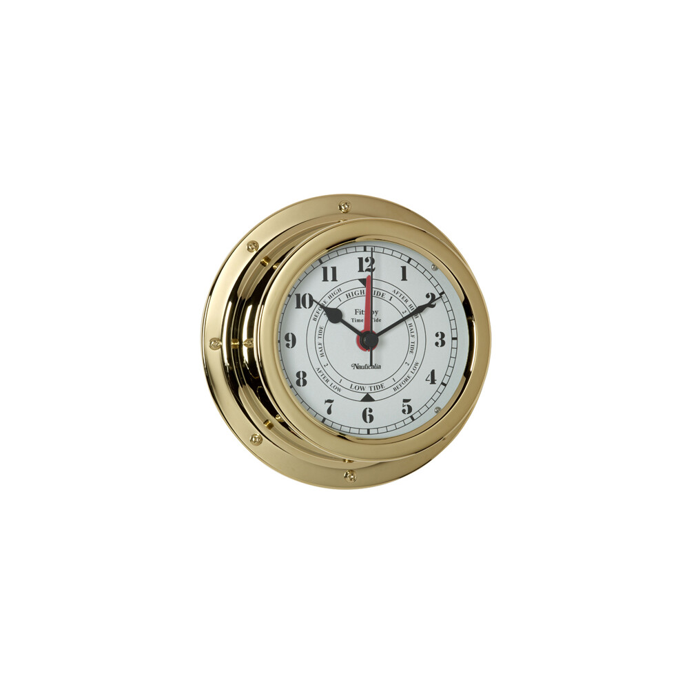 Fitzroy Brass Tide Clock