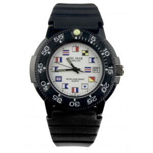 Code Flag Diver's Watch