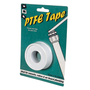 PTFE Tape White 12mx12mm