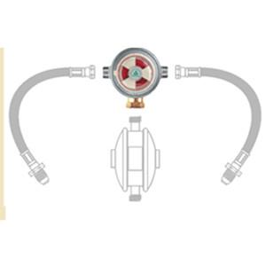 Auto Changeover Head - Butane/Propane