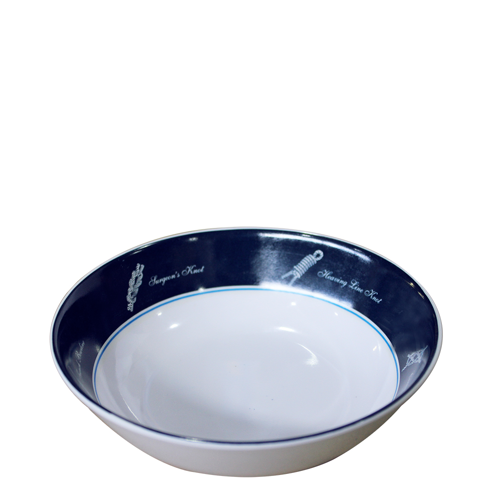 Sea-Knot Deep Cereal Bowl