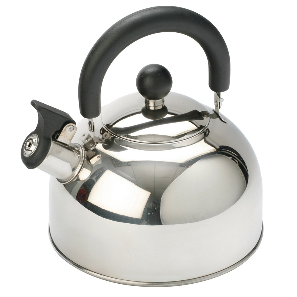 Stainless Steel Kettle w/ Folding Handle 2.0ltr