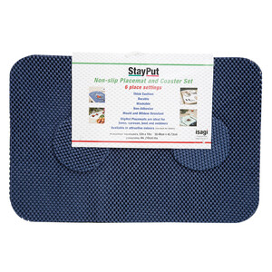 Non Slip Tablemats & Coasters (Set of 6)