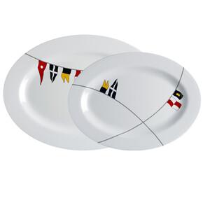 Regata Oval Serving Platters