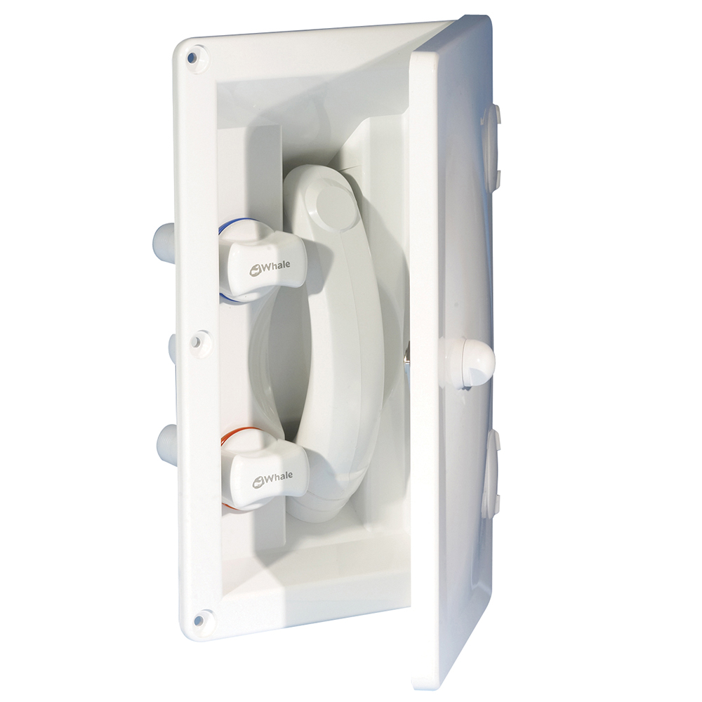 Transom Hot & Cold Mixer Shower c/w Cover