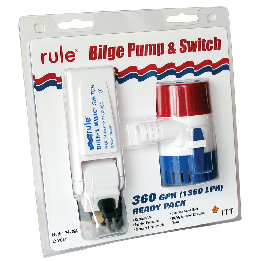 360 Pump with Float Switch