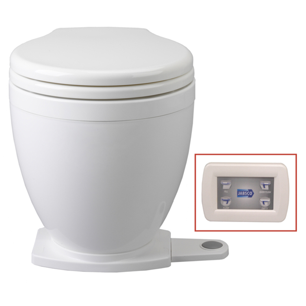 Lite Flush Toilet 12V • With Panel Control