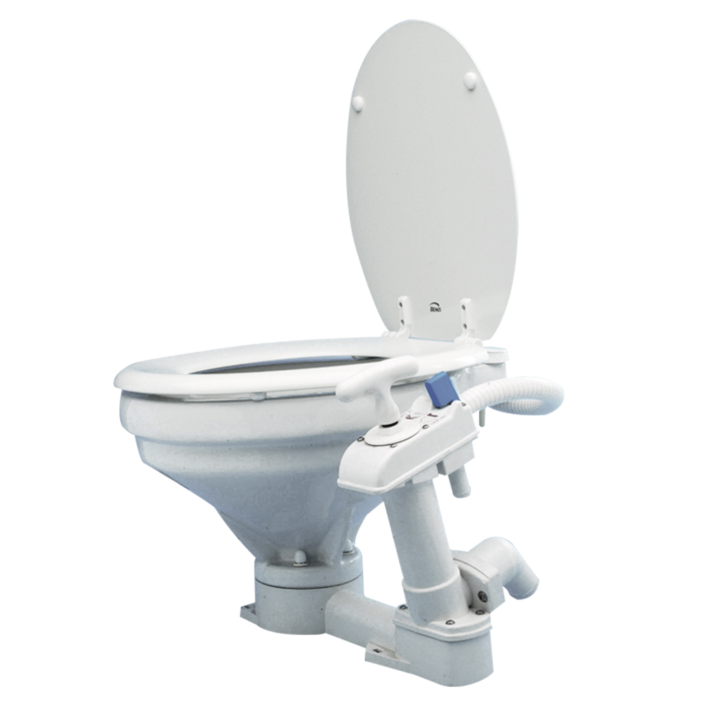Manual Sea Toilet with Soft Close Lid