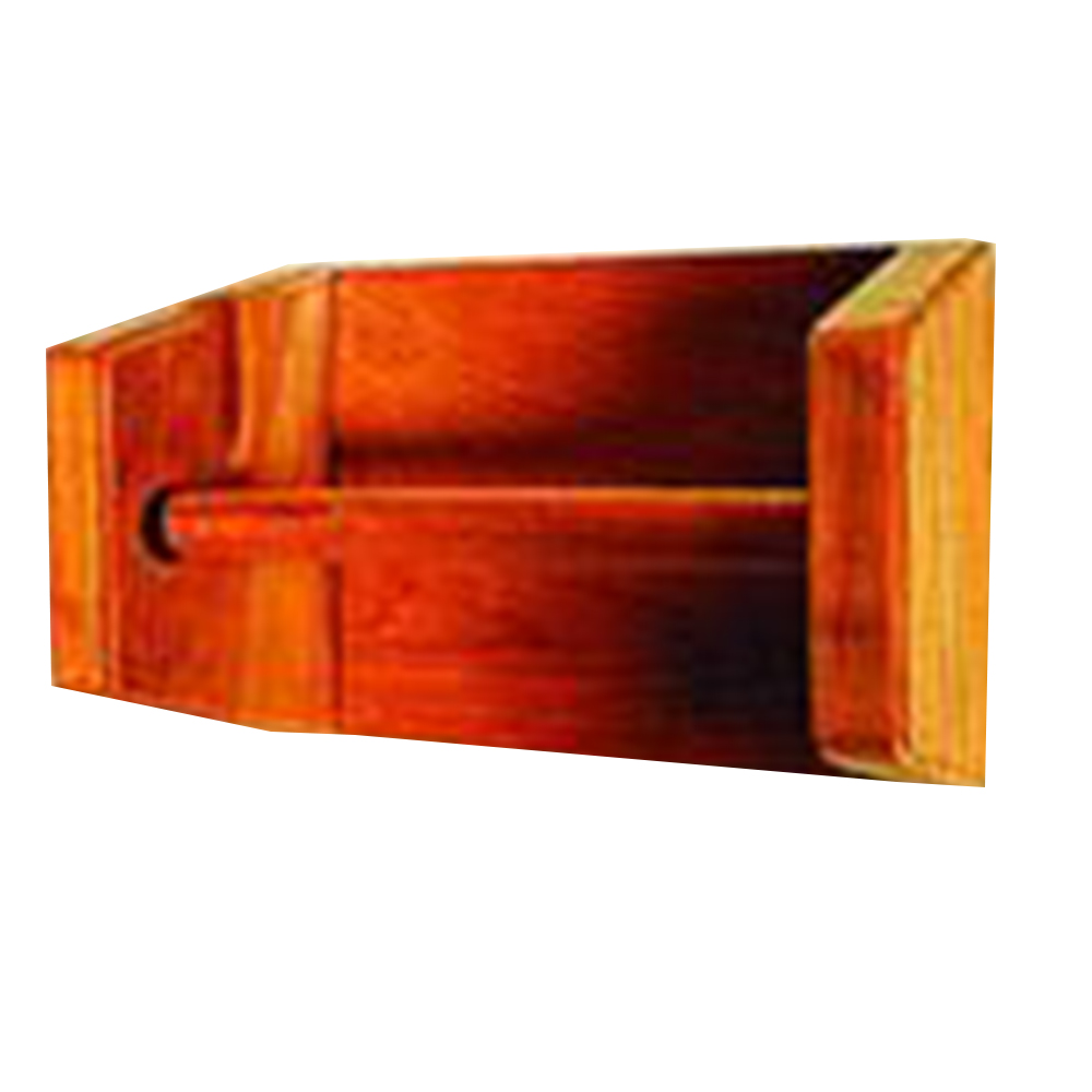 Teak Toilet Roll Holder