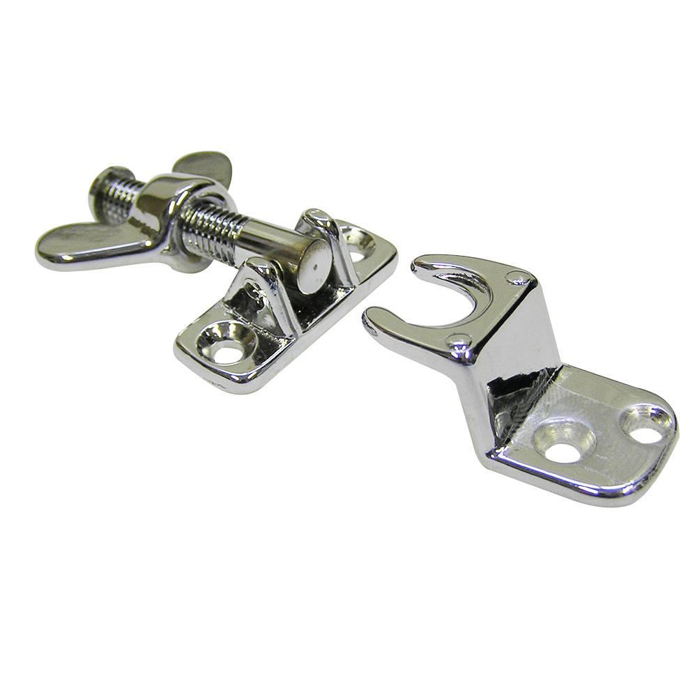 Screw Down Fastener Chrome
