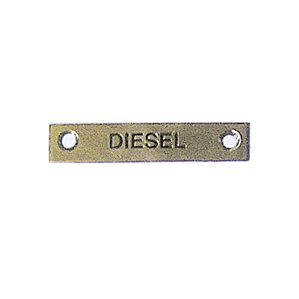 Label - Diesel - 57 x 12mm