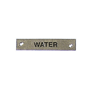 Label - Water - 57 x 12mm