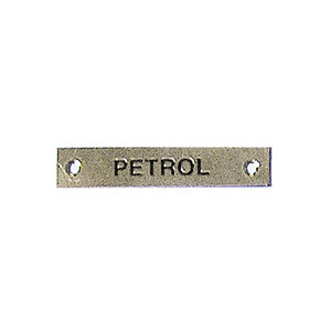 Label - Petrol - 57 x 12mm