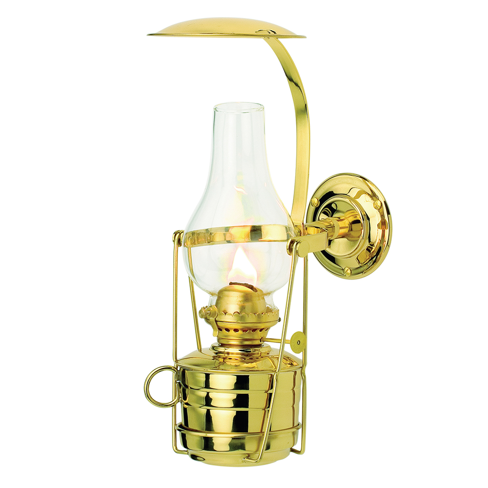 Fastnet Oil lamp - Brass