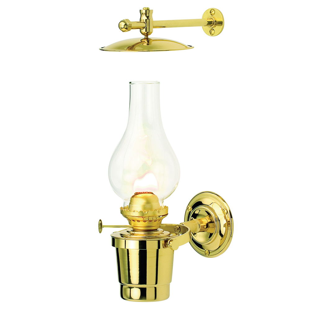 Gypsy Moth Oil Lamp - Brass