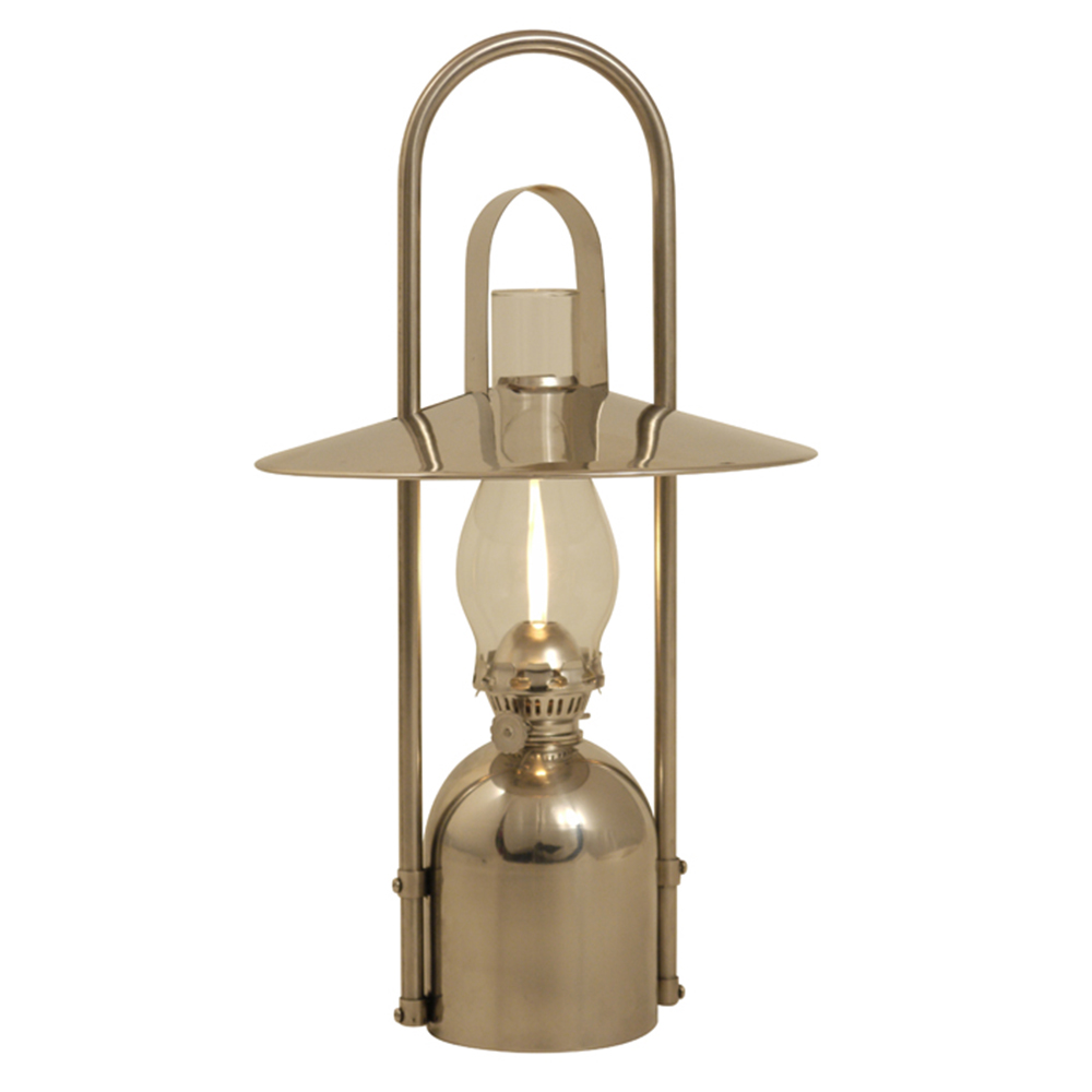 Stainless Steel Oil Lamp - Sampanino