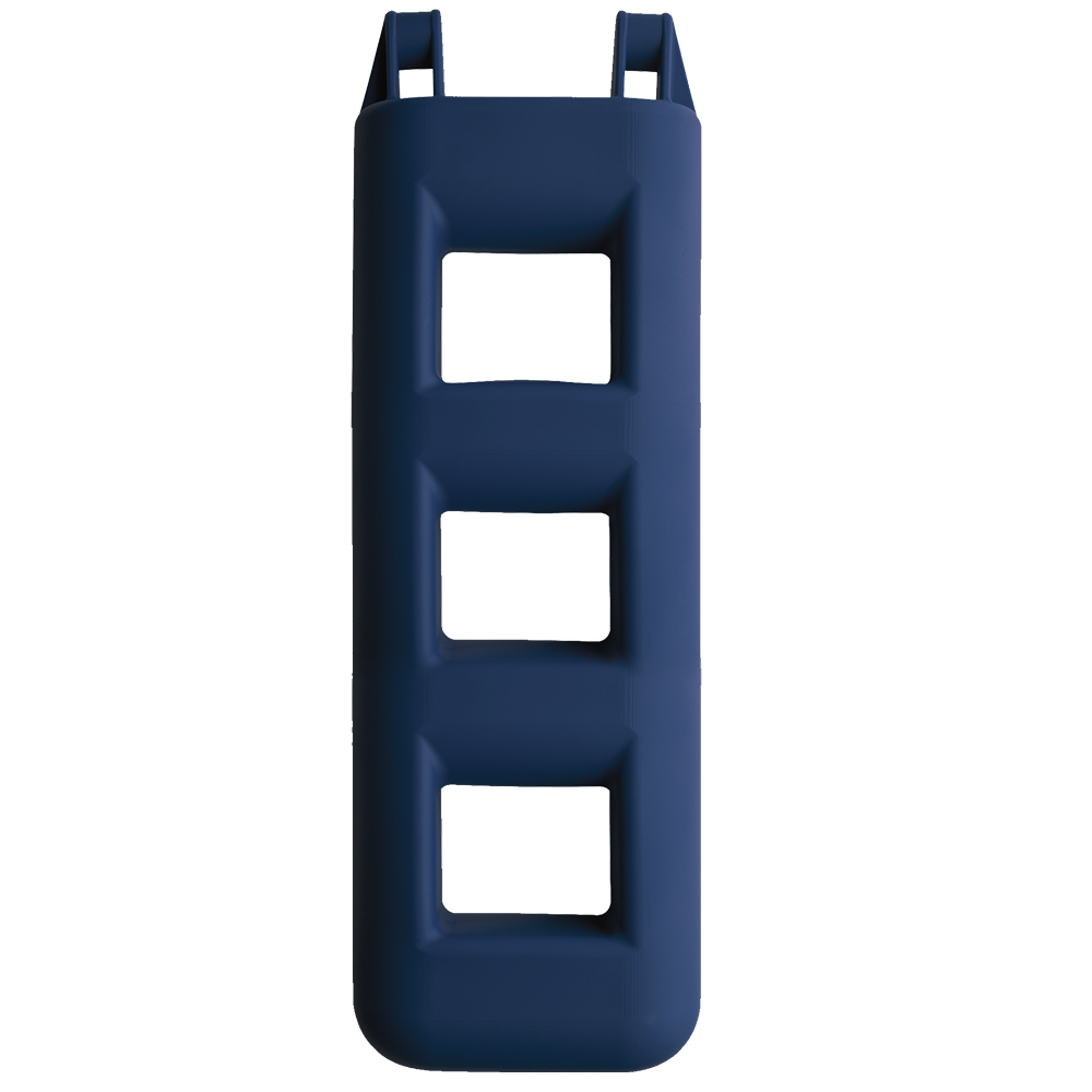 4 Step Fender Ladder Blue- L75