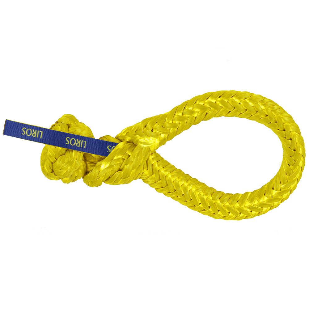 Dyneema Soft Shackle 6000kg Yellow