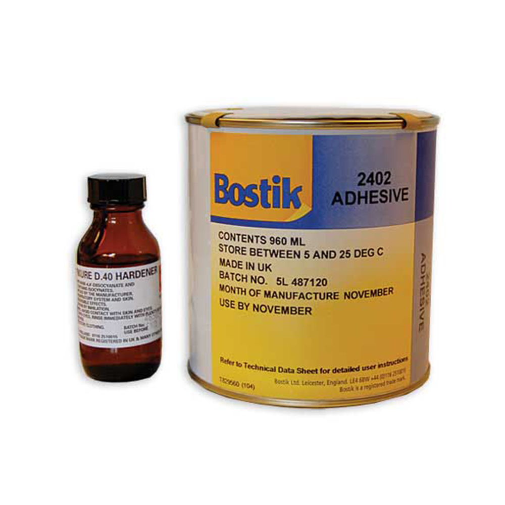 Bostik 2402 Adhesive • 2-part 1Ltr
