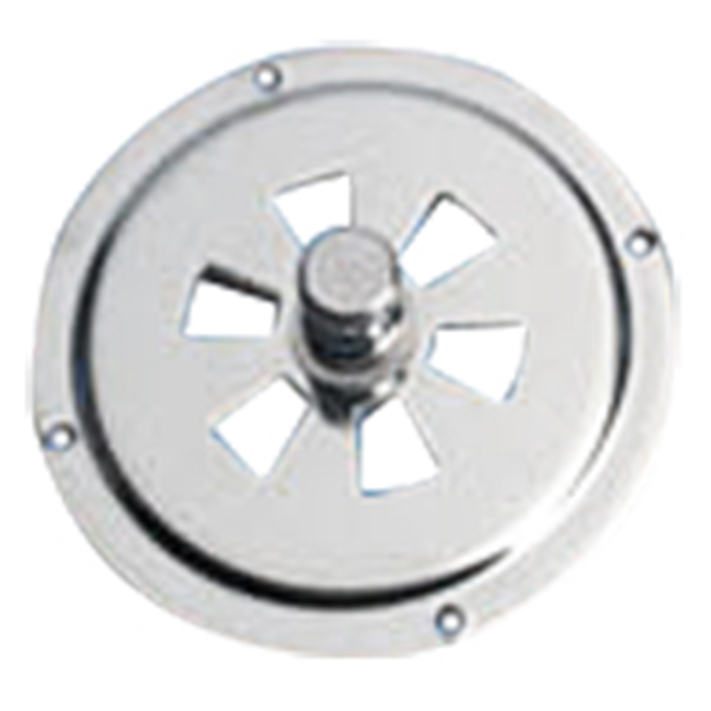 Butterfly Vent Stainless Steel 80mm