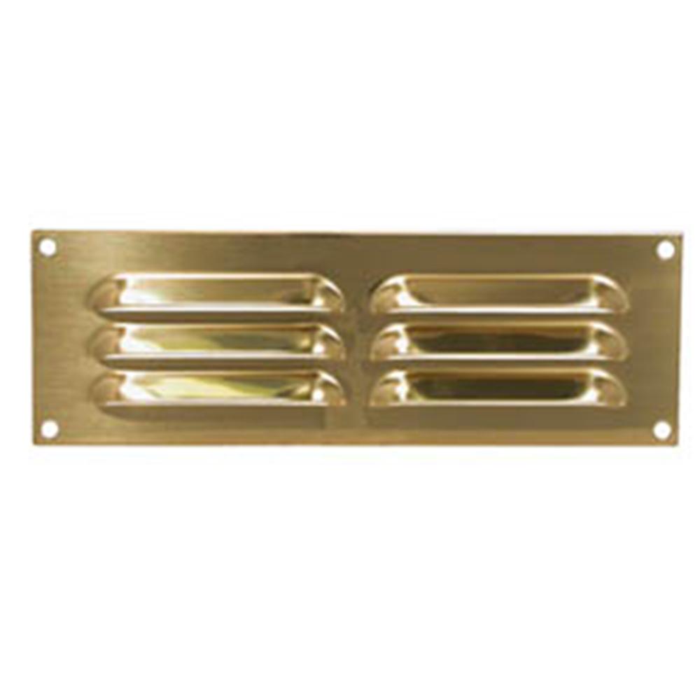 Brass Louvre Vent 230x75mm
