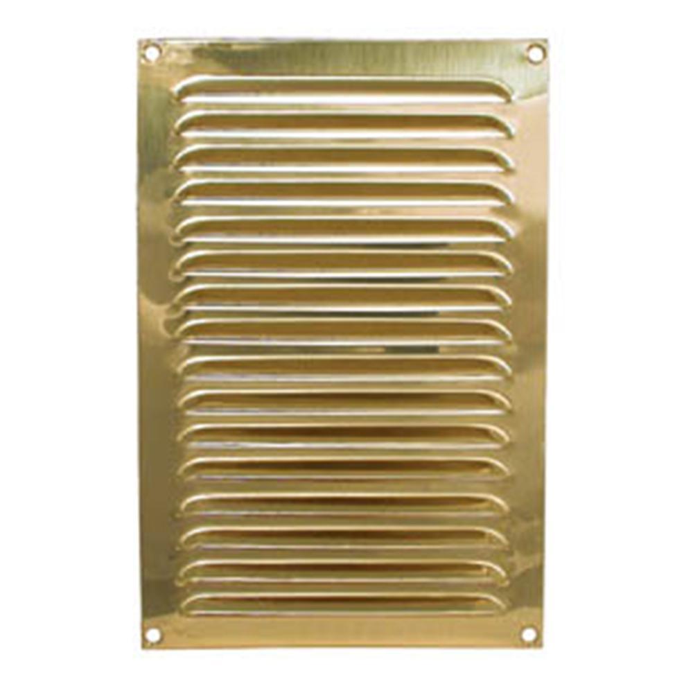 Brass Louvre Vent 150x230mm