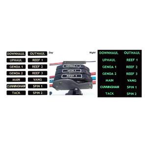 Luminous Clutch Labels - Small (66mm x 15mm)