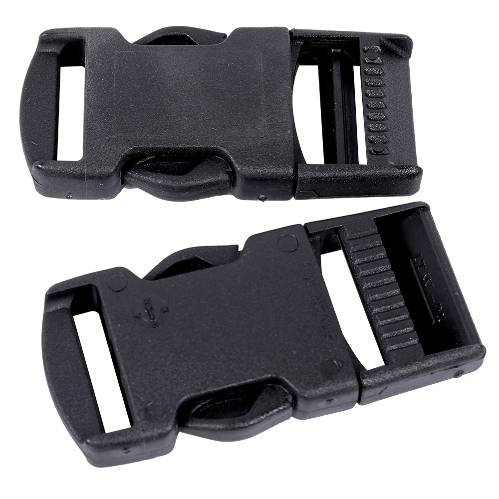 Webbing Clip Buckle 25mm (2pk)