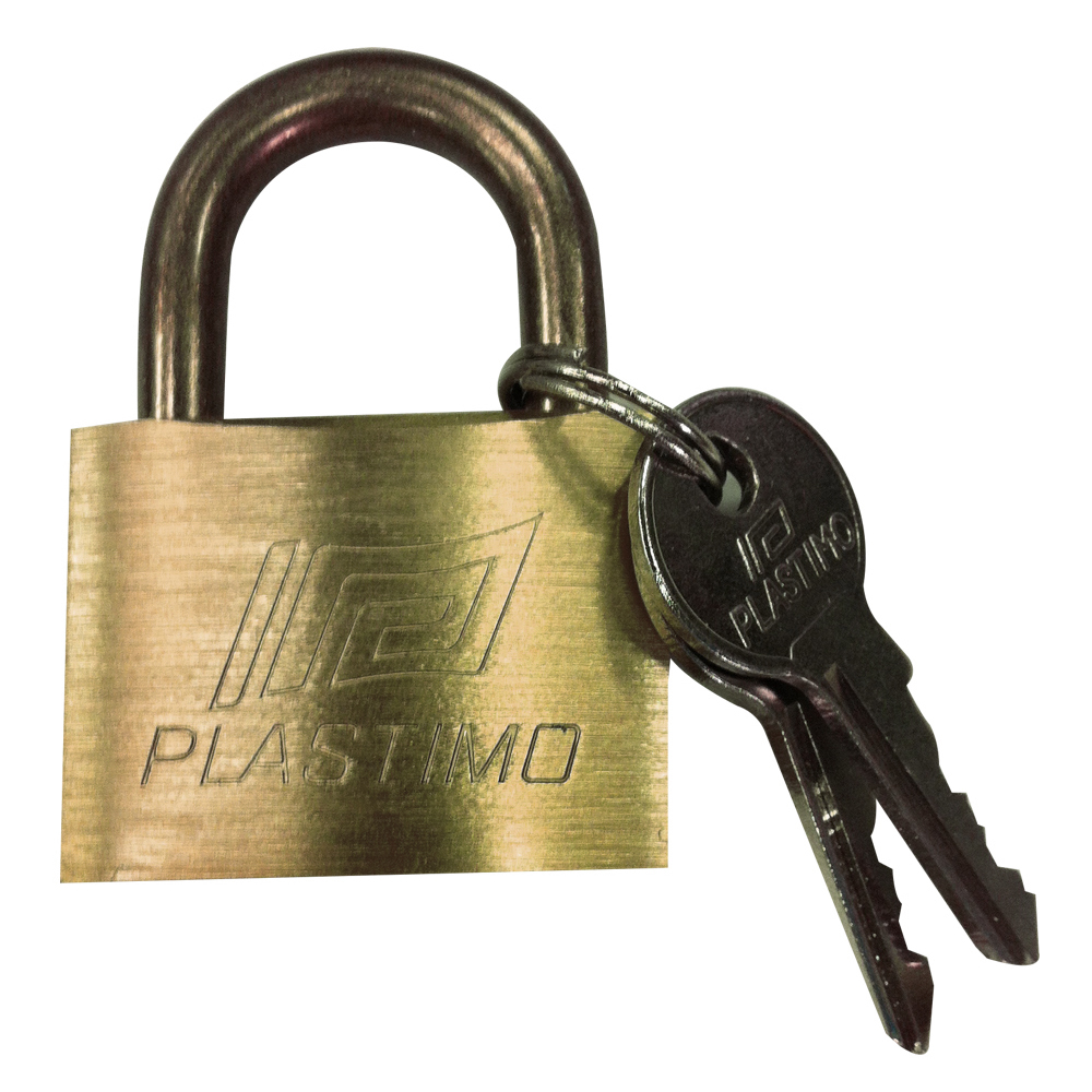 Single Brass Padlock - 40mm